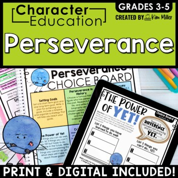 Character Education in the Classroom: PERSEVERANCE