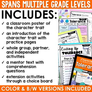 Character Education in the Classroom: TOLERANCE