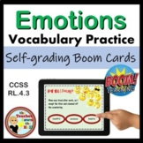 Character Emotions BOOM Cards - 24 Self-checking Digital Task Cards!