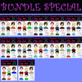 Character Emotions BUNDLE: Includes Sets #5-#16