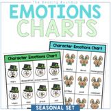 Character Emotions Charts Yearlong Set