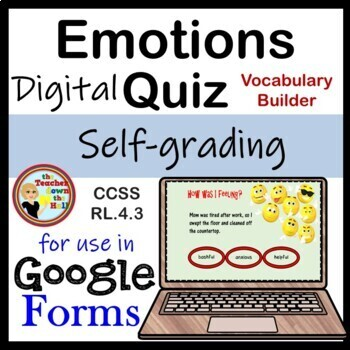 Character Emotions Google Forms Quia by The Teacher down ...