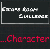 Character Escape Room Challenge
