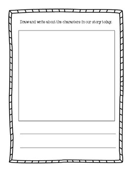 Character Exit Ticket
