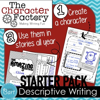 Descriptive Writing Project: STARTER PACK {Character Factory Series}