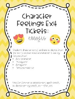 Character Feelings: Emojis