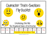 Character Feelings Flip Booklet-EDITABLE VERSION!!