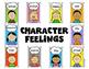 Character Feelings Mega Poster Pack for Kindergarten and F