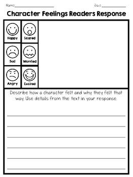 Character Feelings Readers Responses
