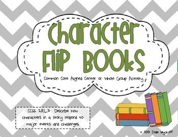 Character Flip Books