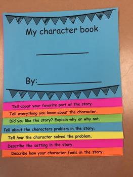 Character Flip book