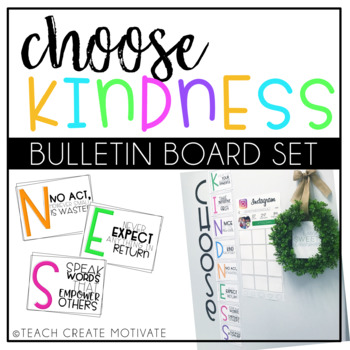 Character Flipbook & Kindness Posters