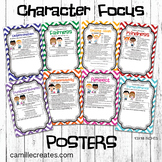 Character Focus Posters