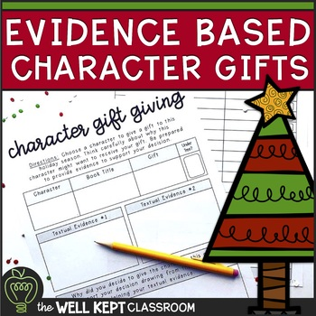 Character Gift Giving Activity