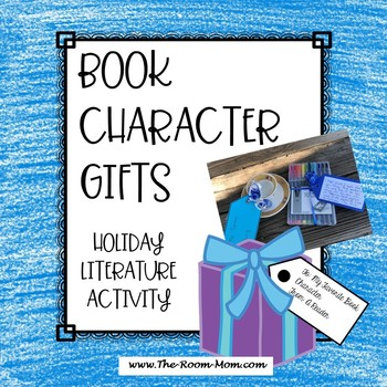 Character Gifts Holiday Literature Activity (freebie)