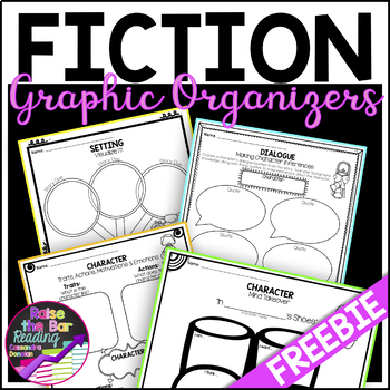 Character Graphic Organizers! For Fiction Reading *FREE*