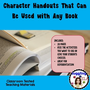 Character Handouts That Can Be Used with Any Book