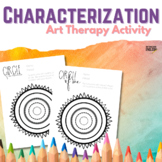 Character Identity Art Therapy Activity for ELA