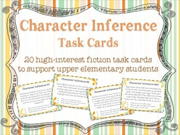 Character Inference Task Cards