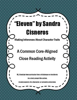 Character Inference in Eleven