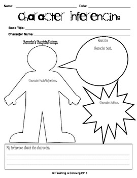 Character Inferencing - FREE!