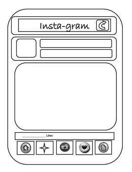 Character Insta-gram Project