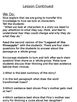 Character Interaction with Inferences- Legends
