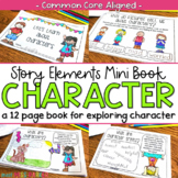 Story Elements Mini Book for Characters (Common Core)