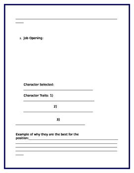 Character Job Fair
