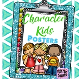 Character Kids Coloring Pages: Featuring 14 Character Traits