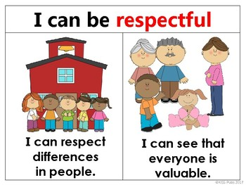 "Character Kids ""I Can..."" Character Traits Poster Sample Set"