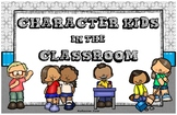 Character Kids In The Classroom (PDF Posters) - LARGE POST