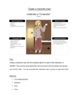 Character Map Activity for A Midsummer Night's Dream