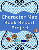 Character Map Book Report Project