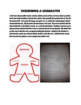 Character Map - Describing a Character