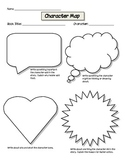 Character Map: Graphic Organizer for Common Core