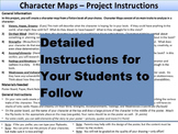 Character Map Project - Teaching Character Traits