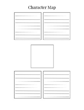 Character Map Template