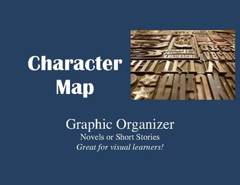 Character Map and Character Analysis: A Graphic Organizer