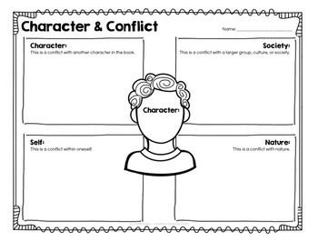 Character Study: Task Cards and Printables for Critical Thinking