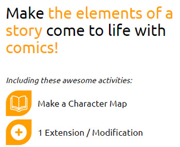 Character Maps (Elementary) Activities: Character Map, 1 Extension