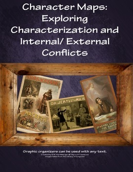 Character Maps: Exploring Characterization and Internal/External Conflicts