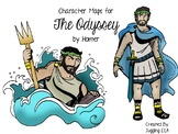 Character Maps for The Odyssey by Homer