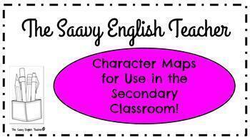 Character Maps for the Secondary Classroom