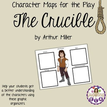 Character Maps for the play The Crucible by Arthur Miller