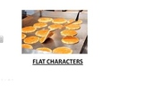 Character Matching Activity - (Flat, Round, Static, and Dynamic)