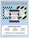 Character Matters Posters - Color