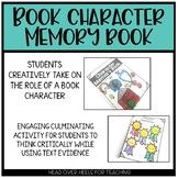 Character Memory Book {Book Report}