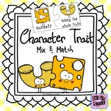 Character Mix and Match Lesson, Puzzles, and Posters With