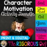 Character Motivation Activities